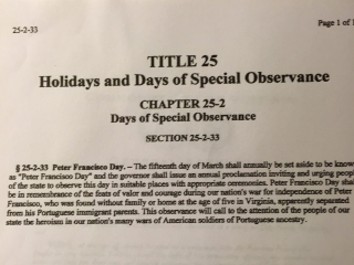 Holidays and Days of Special Observance